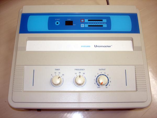 頻尿や尿失禁の治療機のウロマスター